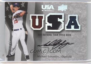2008 Upper Deck USA Baseball Teams Box Set - Box Set 16U National Team Patch Auto #16PA-LO - Michael Lorenzen /50