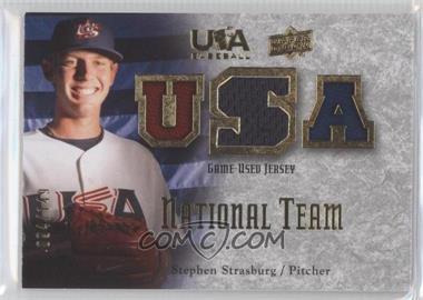 2008 Upper Deck USA Baseball Teams Box Set Box Set National Team Game-Used Jersey #NT-SS - Stephen Strasburg /149