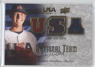 2008 Upper Deck USA Baseball Teams Box Set Box Set National Team Game-Used Jersey #NT-SS - Stephen Strasburg /149