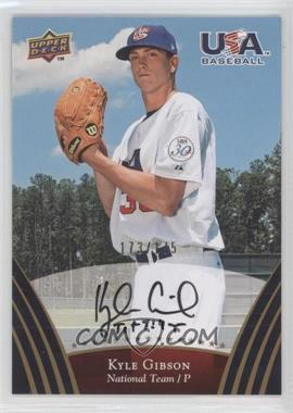 2008 Upper Deck USA Baseball Teams Box Set Gold Autographs [Autographed] #67 - Kyle Gibson /175
