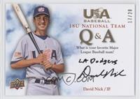 David Nick (Favorite Team) /20