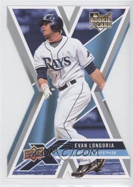 2008 Upper Deck X - [Base] - Die-Cut #94 - Evan Longoria