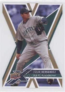 2008 Upper Deck X - [Base] - Gold Die-Cut #88 - Felix Hernandez