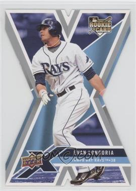 2008 Upper Deck X Die-Cut #94 - Evan Longoria