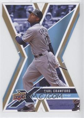 2008 Upper Deck X Gold Die-Cut #93 - Carl Crawford