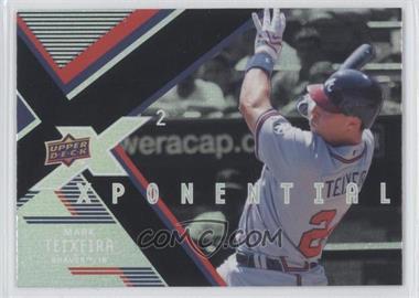 2008 Upper Deck X Xponential2 #X2-MT - Mark Teixeira