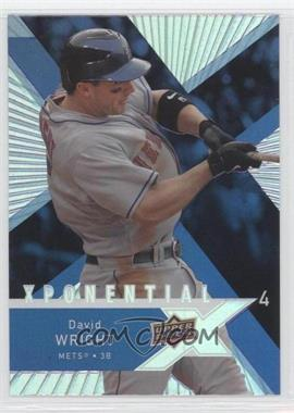 2008 Upper Deck X Xponential4 #X4-DW - David Wright