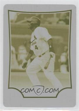 2009 Bowman - [Base] - Printing Plate Yellow #187 - Yadier Molina /1