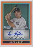Matt Miller /25