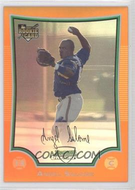 2009 Bowman Chrome Orange Refractor #214 - Angel Salome /25
