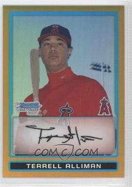 2009 Bowman Chrome Prospects Gold Refractor #BCP130 - [Missing] /50
