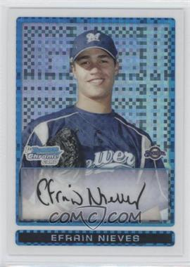 2009 Bowman Chrome Prospects X-Fractor #BCP128 - Efrain Nieves /250