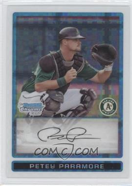 2009 Bowman Chrome Prospects X-Fractor #BCP24 - Petey Paramore /299
