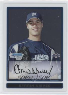 2009 Bowman Chrome Prospects #BCP128 - Efrain Nieves