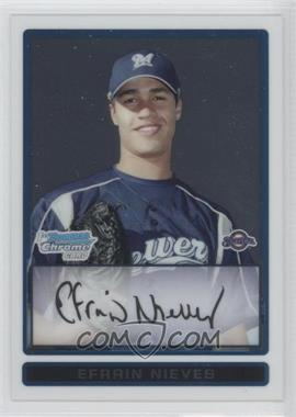 2009 Bowman Chrome Prospects #BCP128 - Efrain Nieves