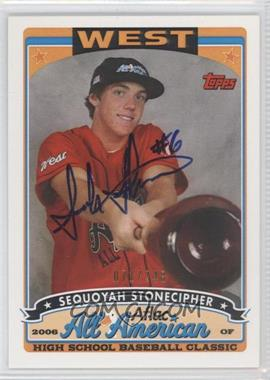2009 Bowman Draft Picks & Prospects - Aflac All-American Autograph #AFLAC-SS - Sequoyah Stonecipher /248