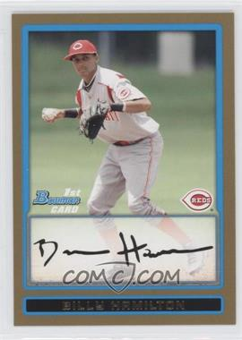 2009 Bowman Draft Picks & Prospects - Prospects - Gold #BDPP2 - Billy Hamilton