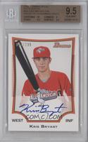 Kris Bryant (Issued in 2013 Bowman Draft) /235 [BGS 9.5]