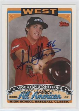 2009 Bowman Draft Picks & Prospects Aflac All-American Certified Autographs [Autographed] #AFLAC-SS - Sequoyah Stonecipher /248