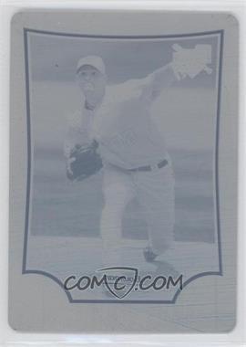 2009 Bowman Draft Picks & Prospects Printing Plate Cyan #BDP11 - J.D. Martin /1