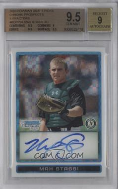 2009 Bowman Draft Picks & Prospects Prospects Chrome X-Fractor #BDPP94 - Max Stassi /225 [BGS 9.5]