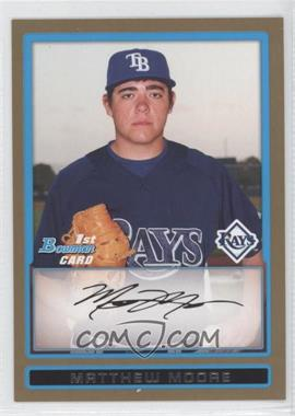 2009 Bowman Prospects Gold #BP7 - Matt Moore