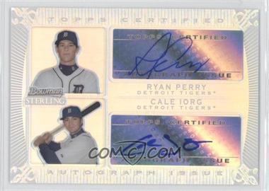 2009 Bowman Sterling [???] #DA-RPCI - Ryan Perry, Cale Iorg /199
