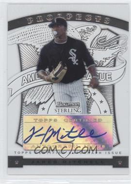 2009 Bowman Sterling Prospects #BSP-JM - Jared Mitchell