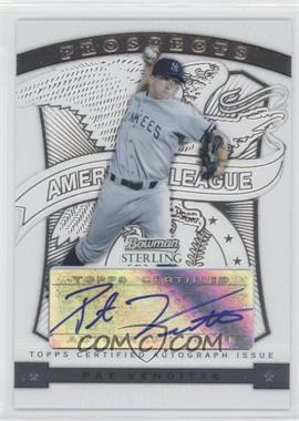 2009 Bowman Sterling Prospects #BSP-PV - Pat Venditte