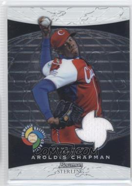 2009 Bowman Sterling World Baseball Classic Relics #BCR-AC - Aroldis Chapman