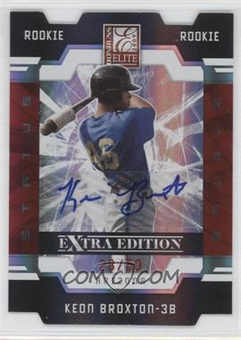 2009 Donruss Elite Extra Edition - [Base] - Status Signatures [Autographed] #114 - Keon Broxton /50