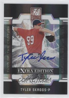 2009 Donruss Elite Extra Edition - [Base] - Turn of the Century Signatures [Autographed] #21 - Tyler Skaggs /820