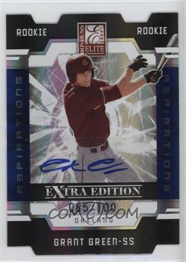 2009 Donruss Elite Extra Edition Aspirations Signatures [Autographed] #67 - Grant Green /100