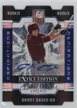 2009 Donruss Elite Extra Edition Aspirations Signatures [Autographed] #67 - Grant Green /100