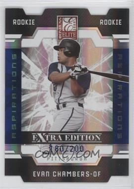 2009 Donruss Elite Extra Edition Aspirations #85 - Evan Chambers /200