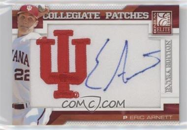 2009 Donruss Elite Extra Edition Collegiate Patches #10 - Eric Arnett /125