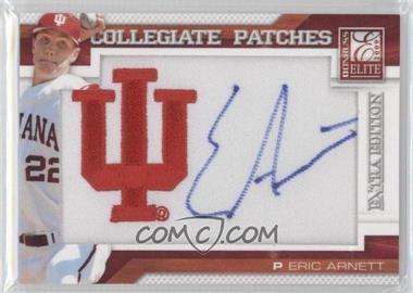 2009 Donruss Elite Extra Edition Collegiate Patches #10 - Eric Arnett /125