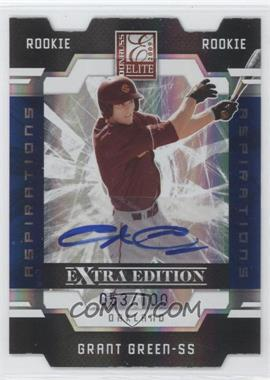2009 Donruss Elite Extra Edition Die-Cut Aspirations Signatures [Autographed] #67 - Grant Green /100