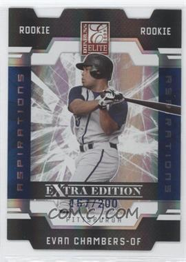 2009 Donruss Elite Extra Edition Die-Cut Aspirations #85 - Evan Chambers /200