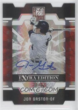 2009 Donruss Elite Extra Edition Red Status Signatures [Autographed] #34 - Jon Gaston /50
