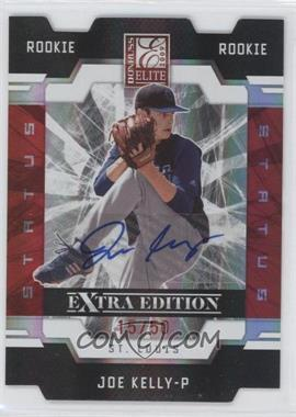 2009 Donruss Elite Extra Edition Red Status Signatures [Autographed] #99 - Joe Kelly /50