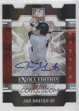 2009 Donruss Elite Extra Edition Status Signatures [Autographed] #34 - Jon Gaston /50