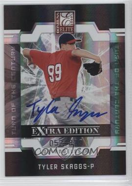 2009 Donruss Elite Extra Edition Turn of the Century Signatures [Autographed] #21 - Tyler Skaggs /820
