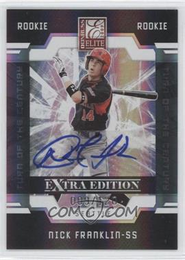 2009 Donruss Elite Extra Edition Turn of the Century Signatures [Autographed] #91 - Nick Franklin /120