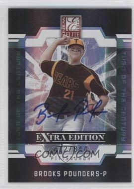 2009 Donruss Elite Extra Edition Turn of the Century Signatures #19 - Brooks Pounders /844
