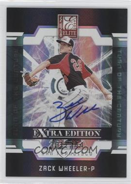 2009 Donruss Elite Extra Edition Turn of the Century Signatures #5 - Zack Wheeler /744