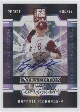 2009 Donruss Elite Extra Edition Turn of the Century Signatures #83 - Garrett Richards /99