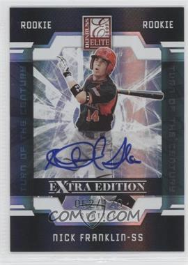 2009 Donruss Elite Extra Edition Turn of the Century Signatures #91 - Nick Franklin /120