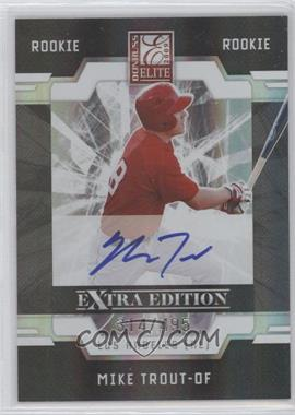 2009 Donruss Elite Extra Edition #57 - Mike Trout /495