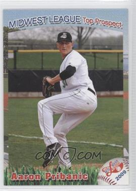 2009 Grandstand Midwest League Top Prospects #N/A - Aaron Pribanic